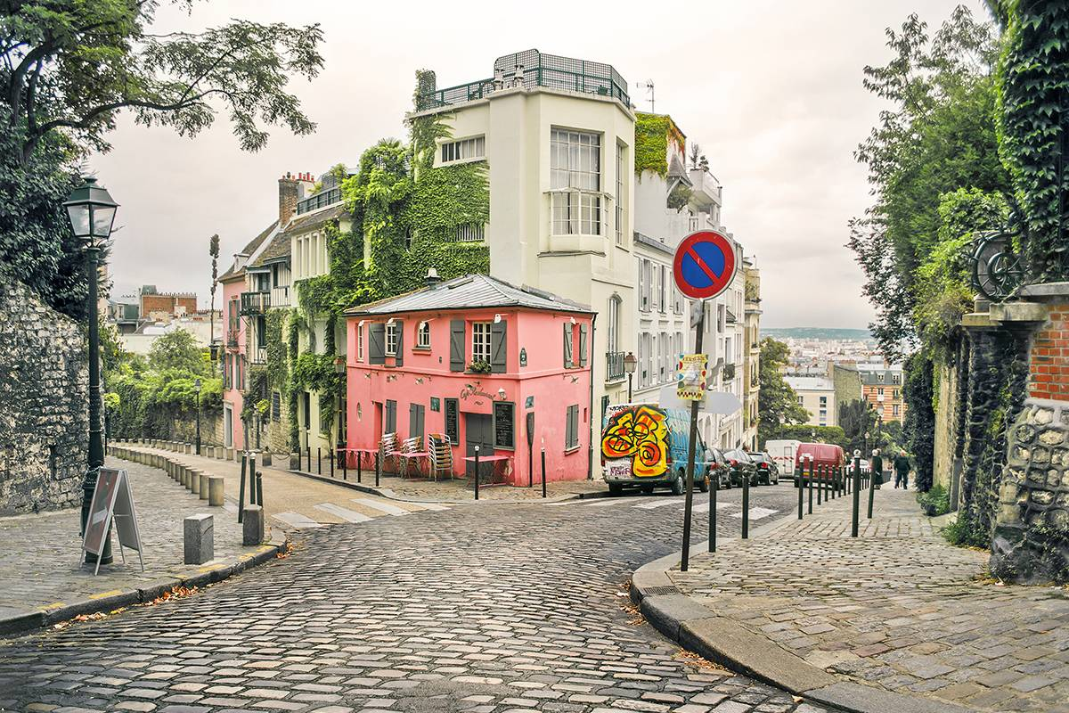 SANDEMANs NEW Paris Tours Montmartre-Viertel Tour