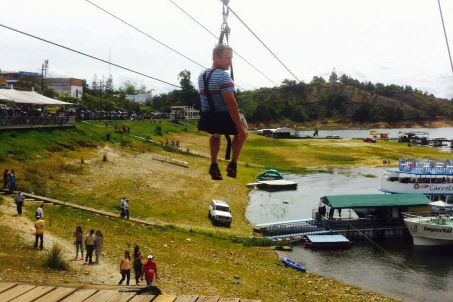 Medellin City Tours BoGo Tour: 	BOOK ZIP LINES AND GET FREE SIGHTSEEING TOUR