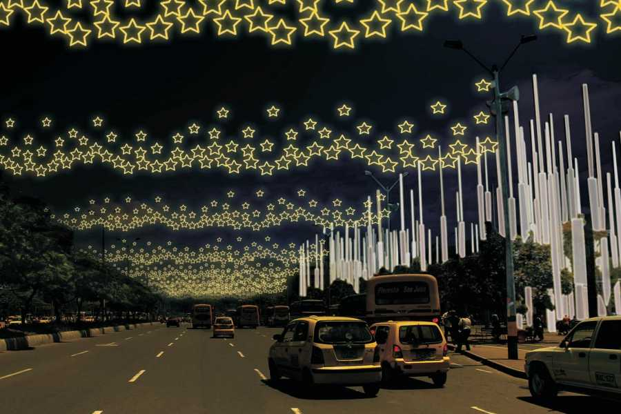 Medellin City Tours Combo Tour: Coffee and Christmas Lights Tour from Medellin