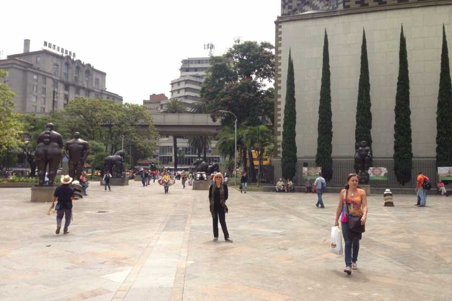 Medellin City Services SHARED HALF DAY CITY TOUR