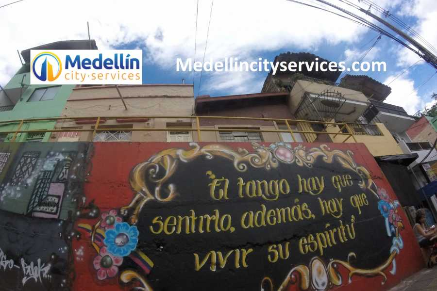 Medellin City Services SHARED TANGO TOUR