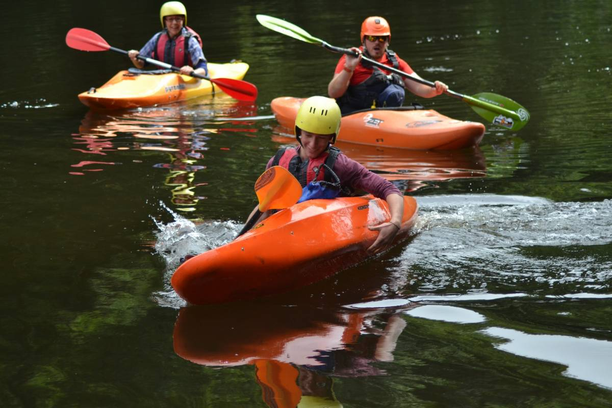 Way2go Adventures Full Day Guided Kayak Trip on the River Wye