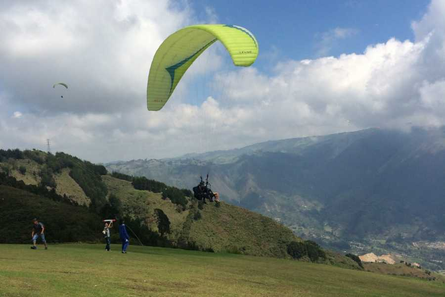 Medellin City Services SHARED PARAGLIDES