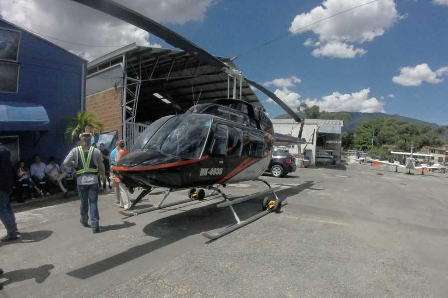 Medellin City Services SHARED HELI RIDE