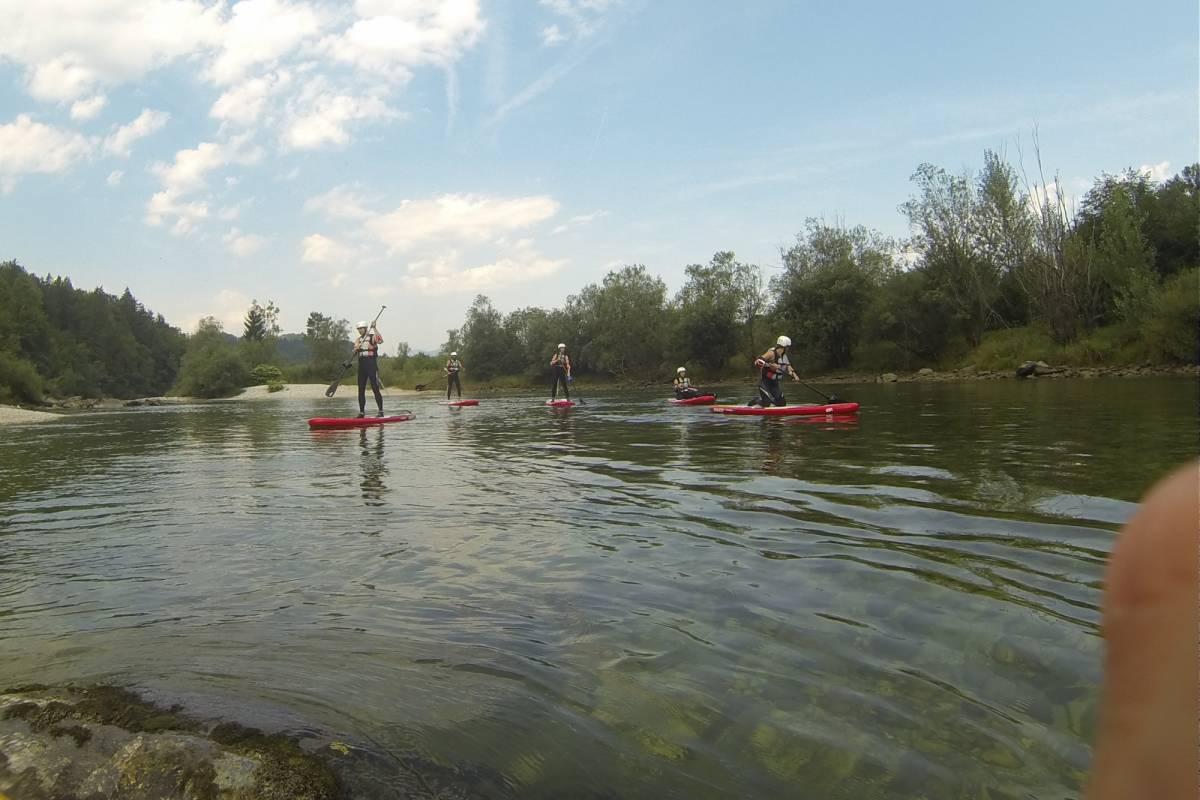 Funturist PE Bled River SUP Bled