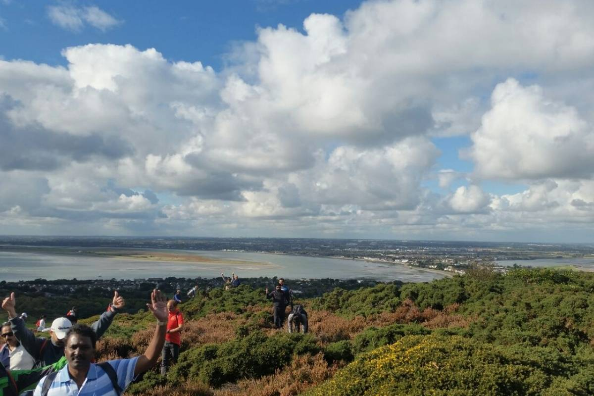 Shane's Howth Hikes Group Adventure