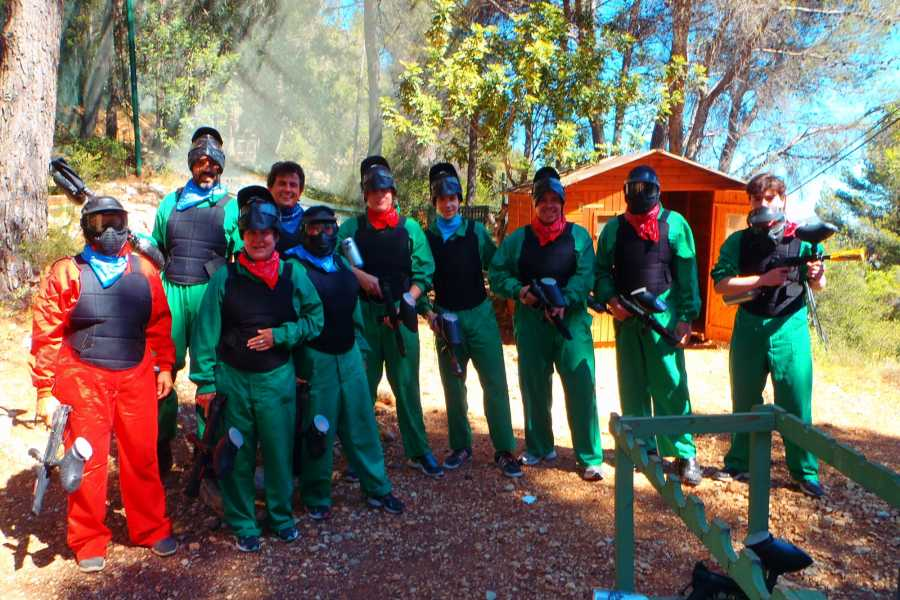 TURURAC. Turismo Activo y de Aventura Paintball Orba. Adrenaline, competition and guaranteed fun !!!