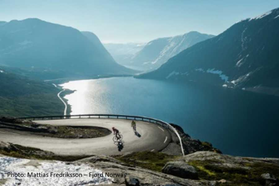 Travel like the locals (Møre og Romsdal) Trollstigen & UNESCO Geirangerfjord (one way)