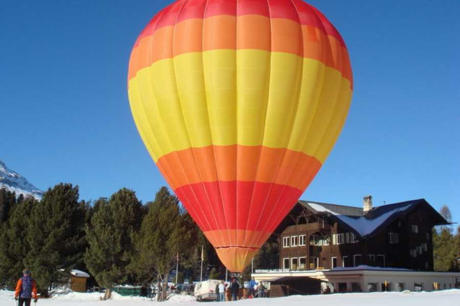 HB Adventure Switzerland AG Available now: Private Hot Air Balloon ride for 2 persons