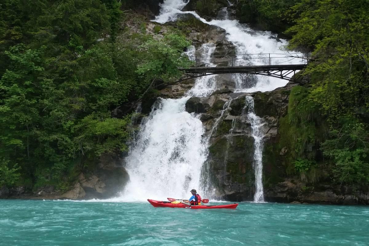 Hightide Kayak School Lake Brienz Day Tour