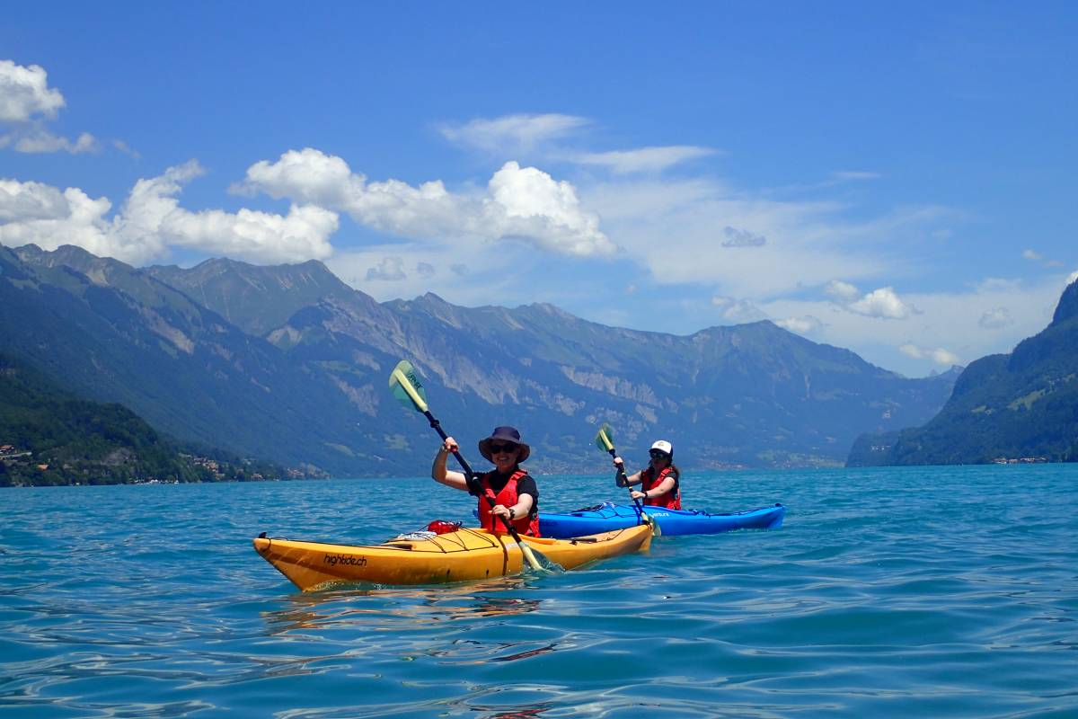 Hightide Kayak School Lake Brienz Day Tour