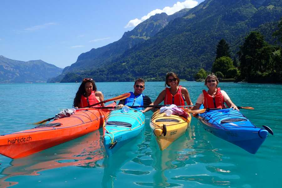 Hightide Kayak School Tagestour Brienzersee