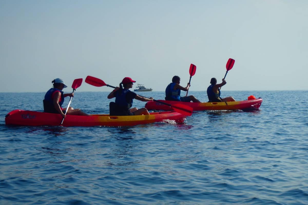 TURURAC. Turismo Activo y de Aventura Paddling LES ROTES - CABO SAN ANTONIO - LES ROTES