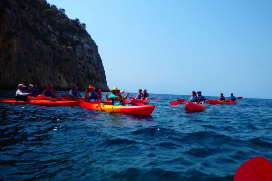 TURURAC. Turismo Activo y de Aventura COSTA BLANCA EN KAYAK disfrute y descubrimiento de los bellos paisajes de la Costa Blanca