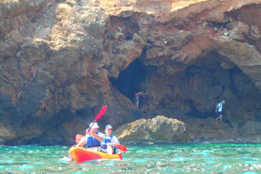 TURURAC. Turismo Activo y de Aventura COSTA BLANCA IN KAYAK enjoyment and discovery of the beautiful landscapes of the Costa Blanca