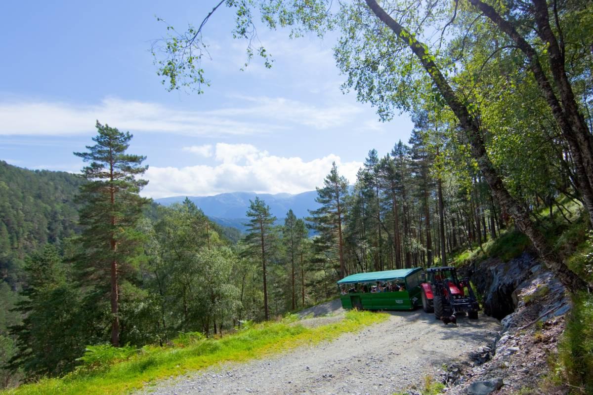 Åkrafjorden Oppleving AS Traktorsafari til Eikemo