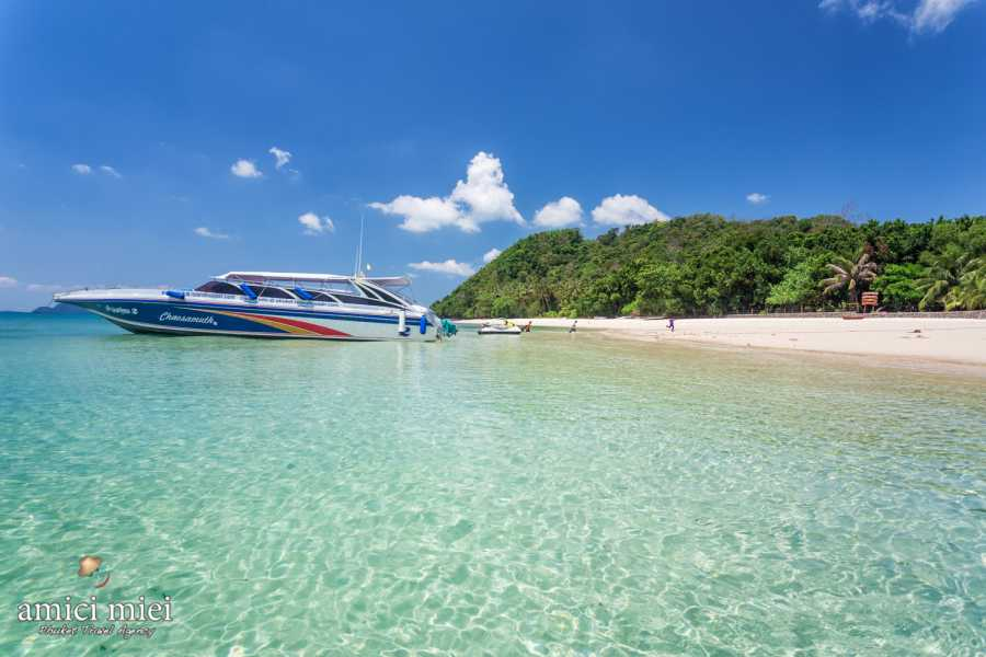 AMICI MIEI PHUKET TRAVEL AGENCY PHI PHI TOUR 6 ISOLE DEUXE PLUS