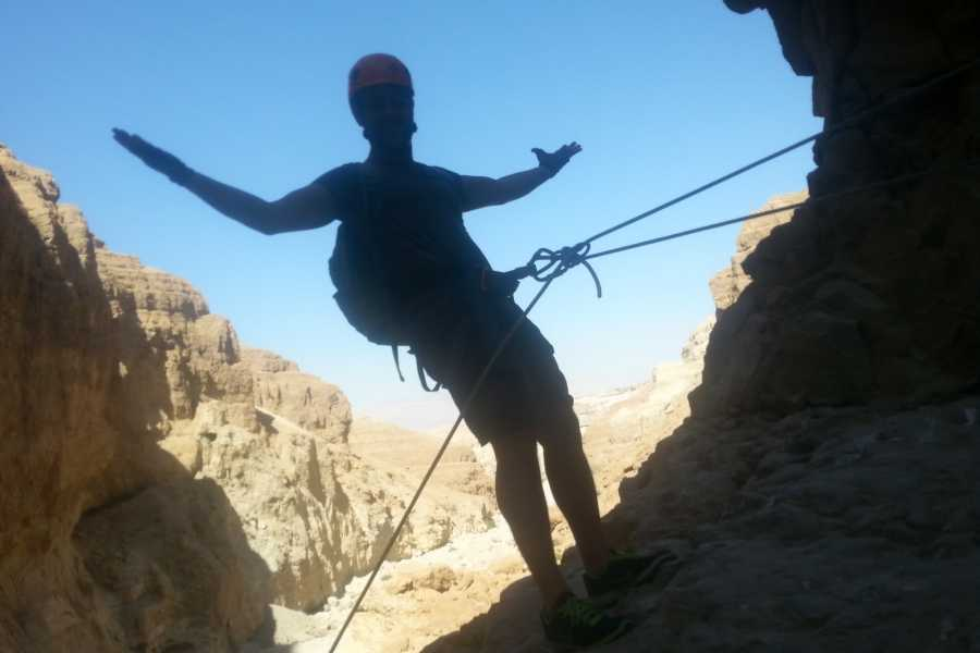Wild-Trails Canyoning in Israel - Rahaf Canyon