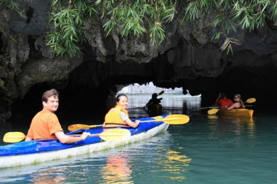 Vietnam 24h Tour The Real Halong Bay Private Cruise & Island Experience 3D2N