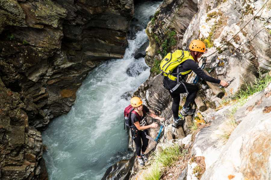 Saas-Fee Guides Alpine Canyon Adventure