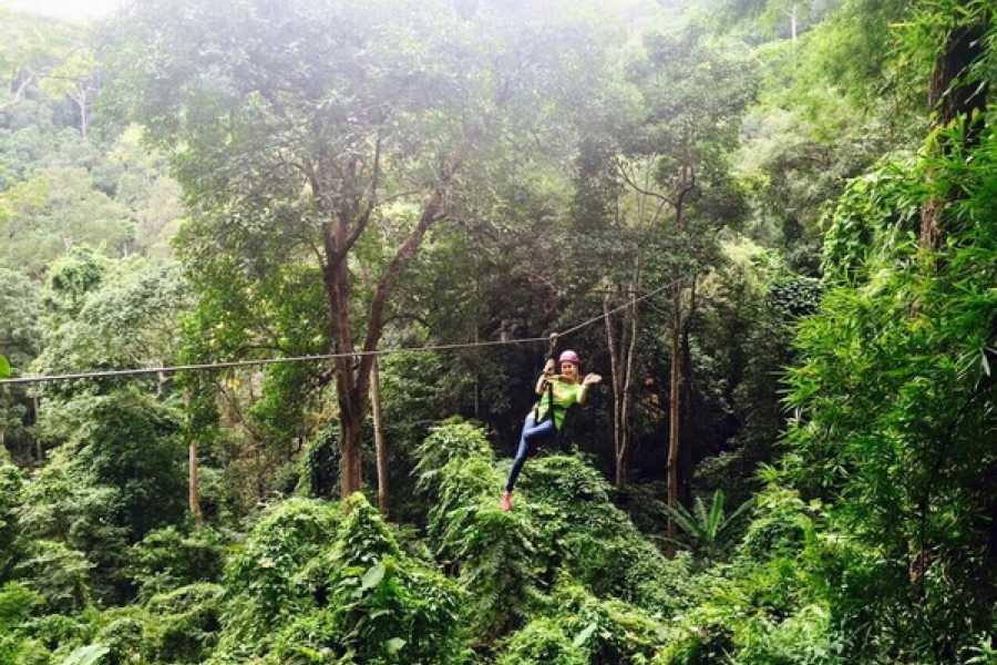 AMICI MIEI PHUKET TRAVEL AGENCY Zipline a Chiang Mai