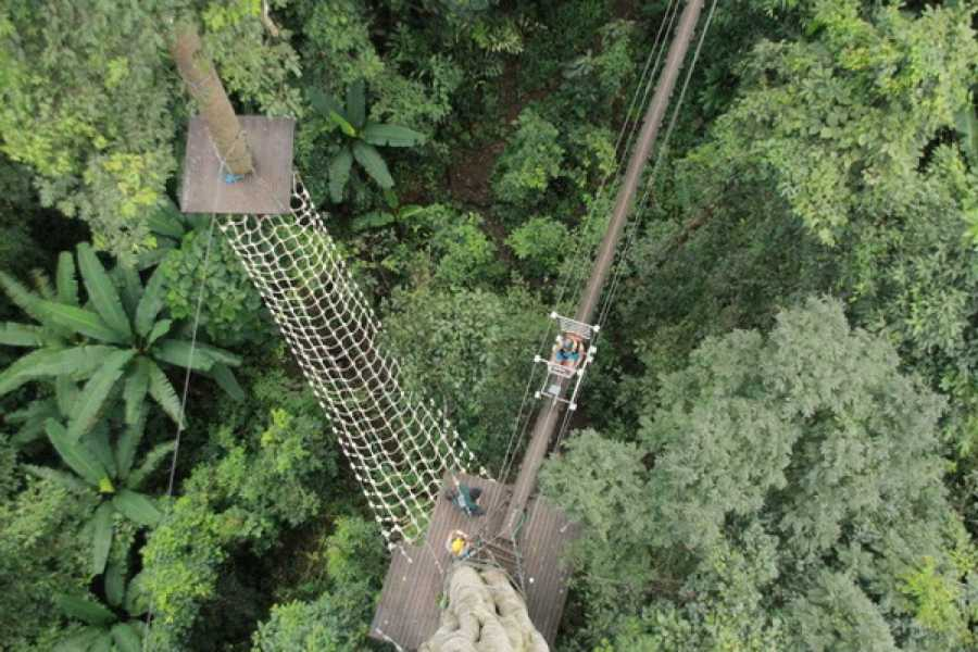 AMICI MIEI PHUKET TRAVEL AGENCY Flying Squirrels Zip line in Chiang Mai (3 Programs)
