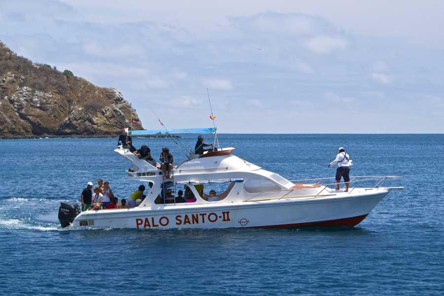 PALO SANTO TRAVEL ISLA DE LA PLATA, SNORKEL, MARINE TURTLES
