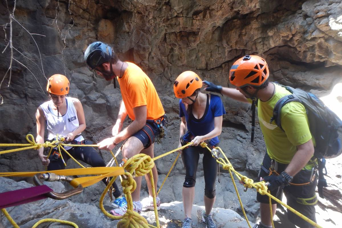 Wild-Trails Canyoning in Israel - Black Canyon
