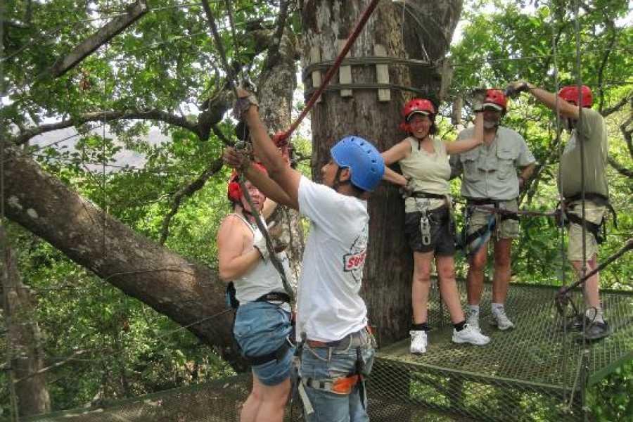 CongoCanopy.com Original Canopy Zip Line Tour