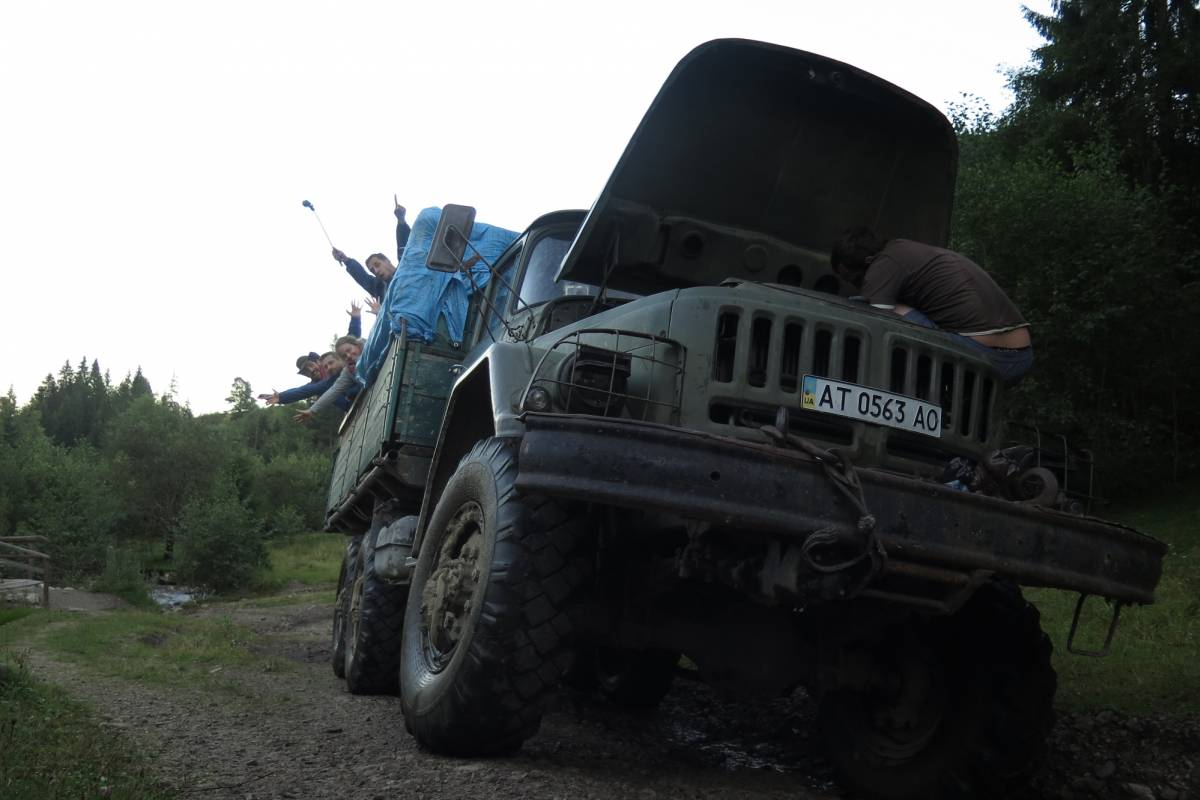 Wild-Trails Adventure in the Green Pearl of Ukraine!