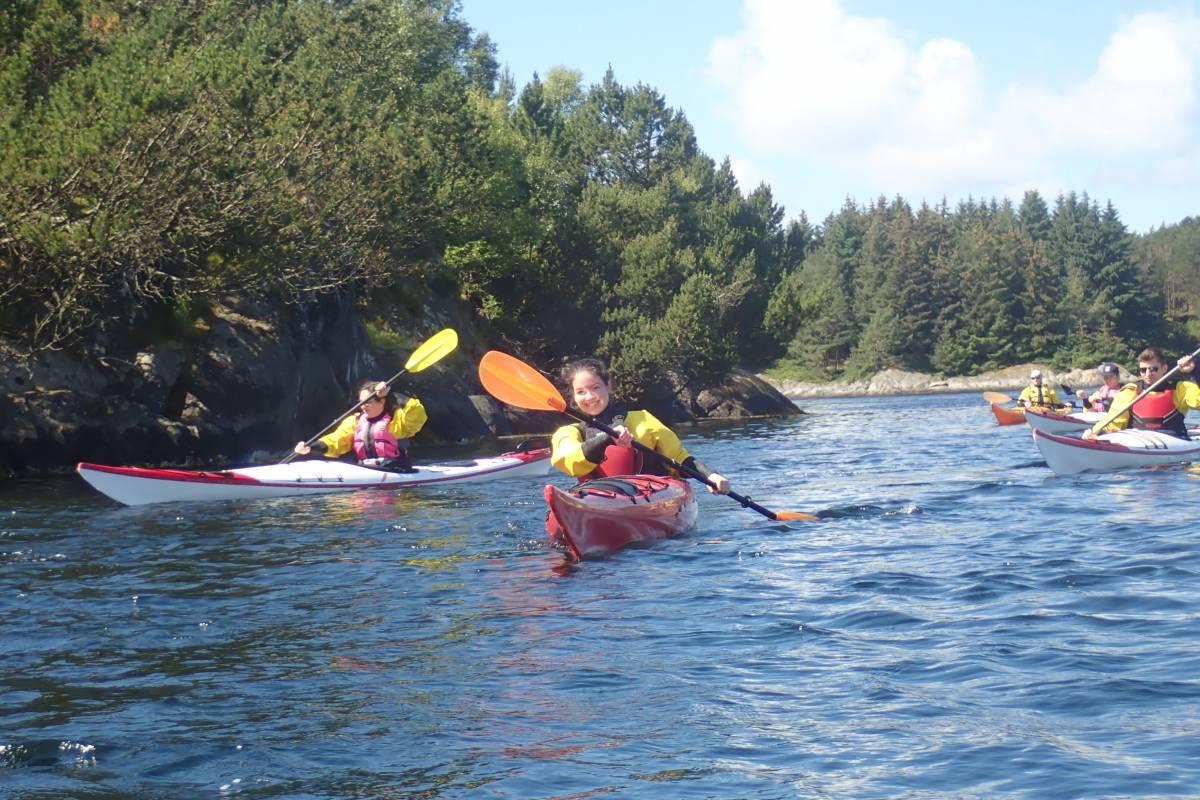Gone Paddling Guided kayak tour in Bergen (Herdla)