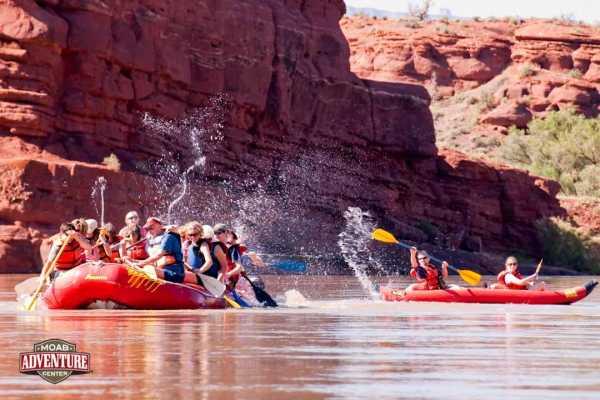 2 days Raft & Camp on Colorado River
