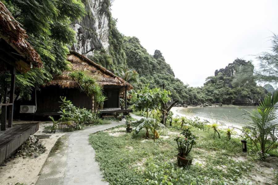 Vietnam Backpacker Hostels 3 Day/2 Night Halong Bay Castaways Island