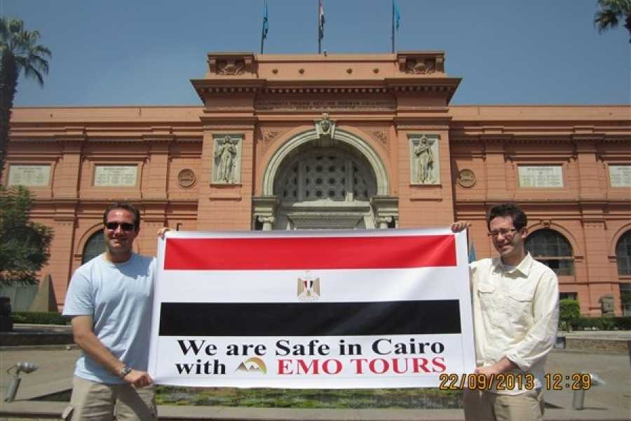 EMO TOURS EGYPT Cairo Layover Tours to Giza Pyramids Egyptian Museum Bazaar Sound & Light show