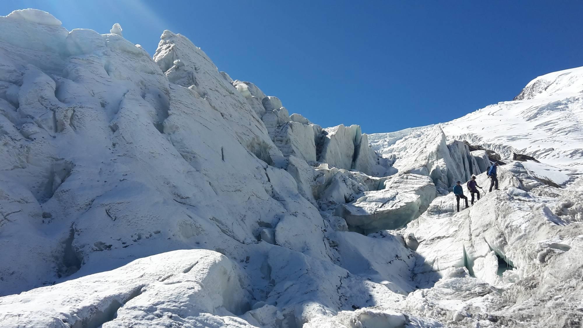Klettergurt Für Gletscher : Die gletscher erlebnistour saas fee guides