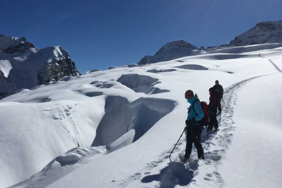 Saas-Fee Guides Glacier Experience - Winter Tour