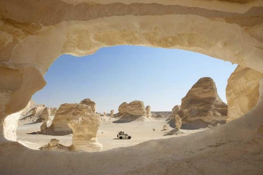 EMO TOURS EGYPT カイロ発3日間のホワイト・デザート&バハリヤ