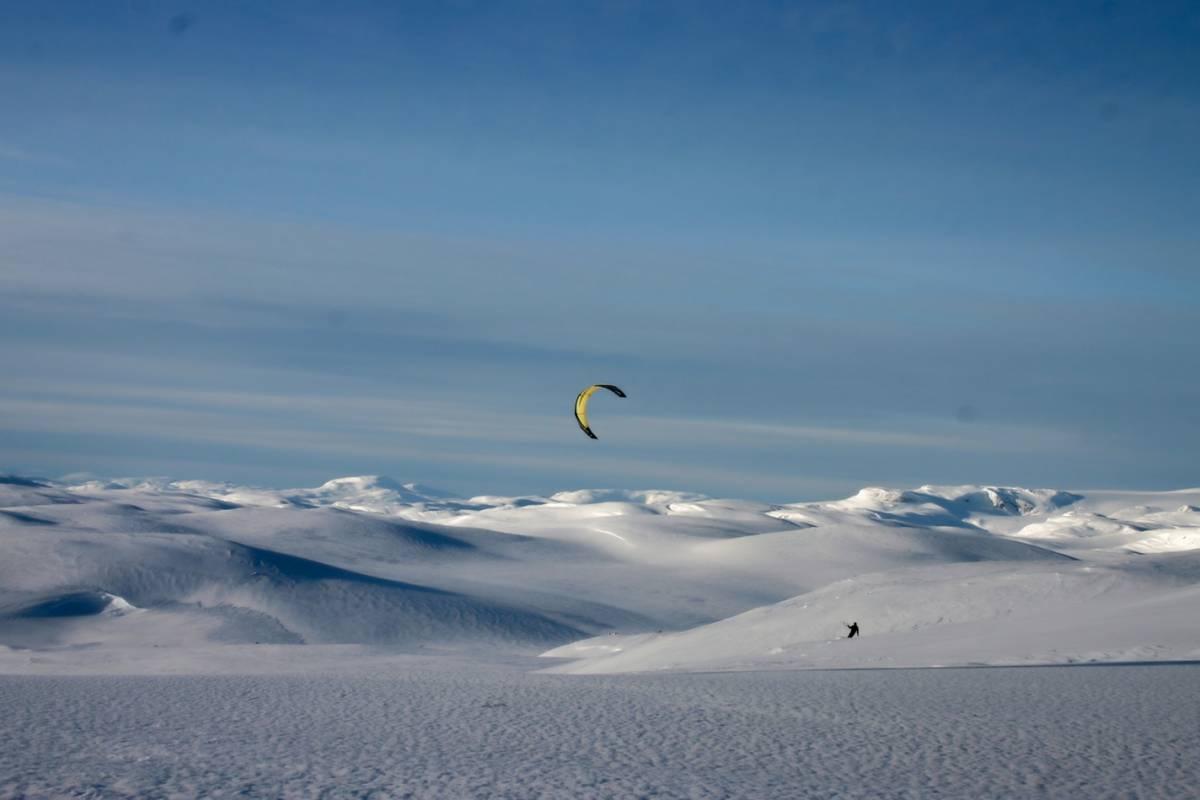 Kitesurfing.no Kitekurs Snø