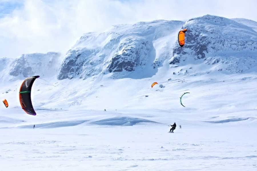 Kitesurfing.no Snowkite Course for Beginners (2 days)