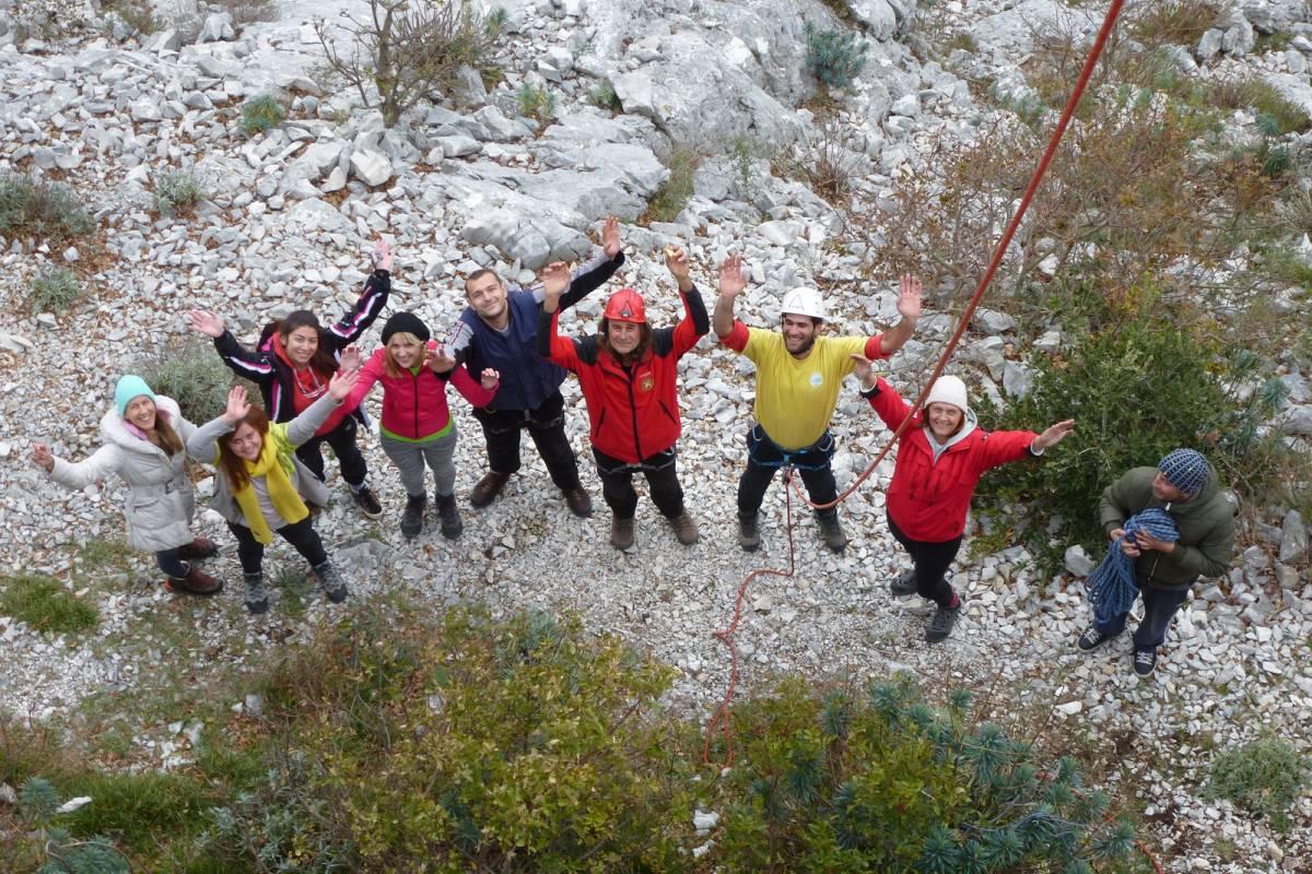Iris Adventures Croatia Rock climbing tour