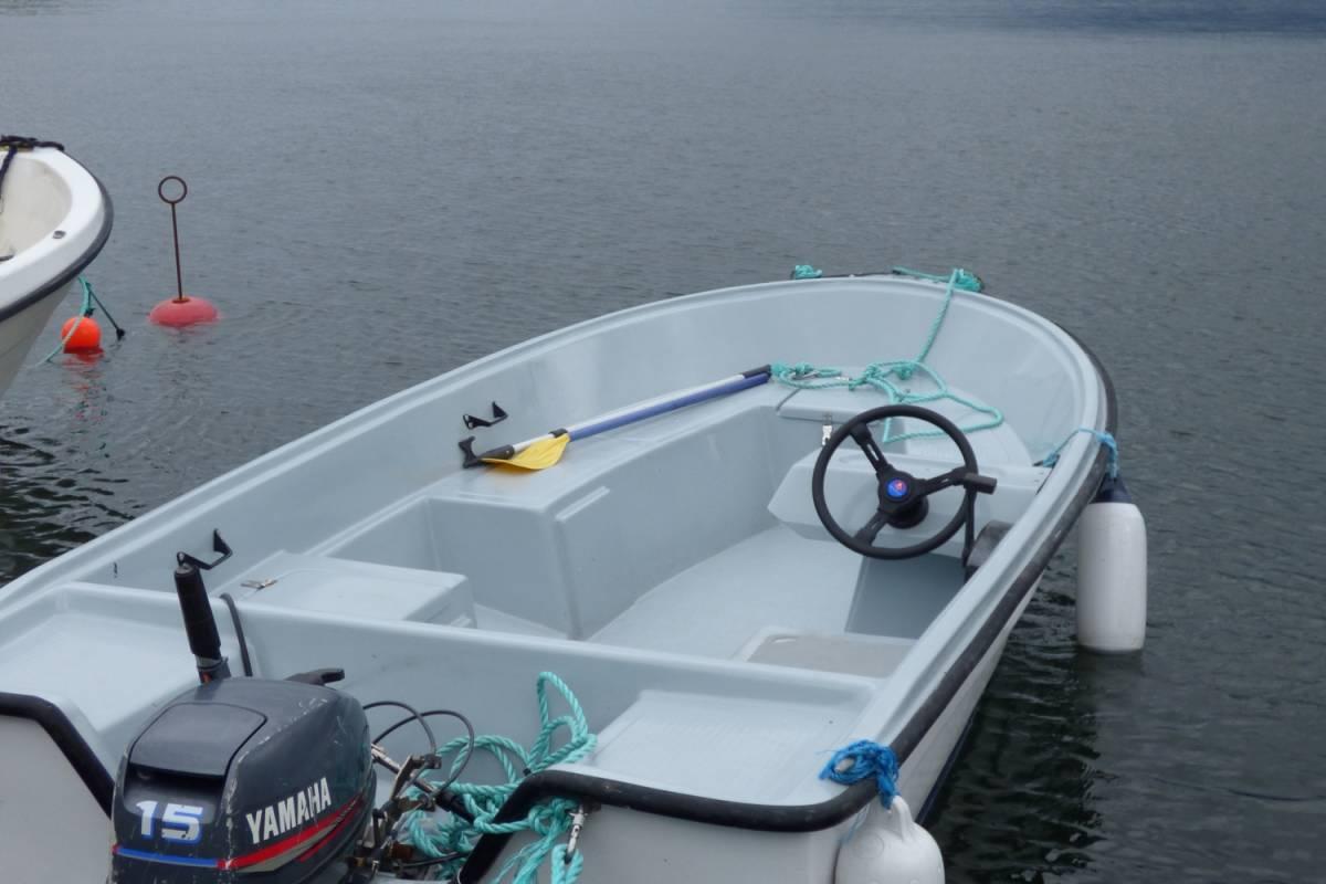 Hardanger Feriesenter AS Boat rental - 15 hp fishing boat