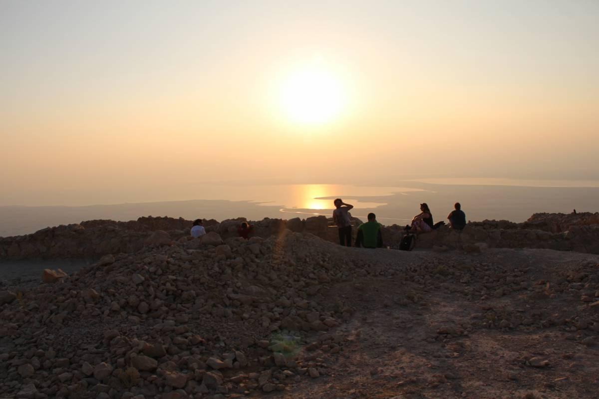 Wild-Trails Masada at Sunrise - Self Guided Tour