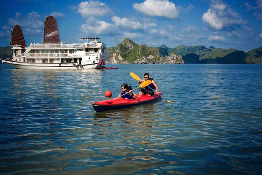OCEAN TOURS Ocean Sails 2D1N 4 STARS - BAI TU LONG BAY