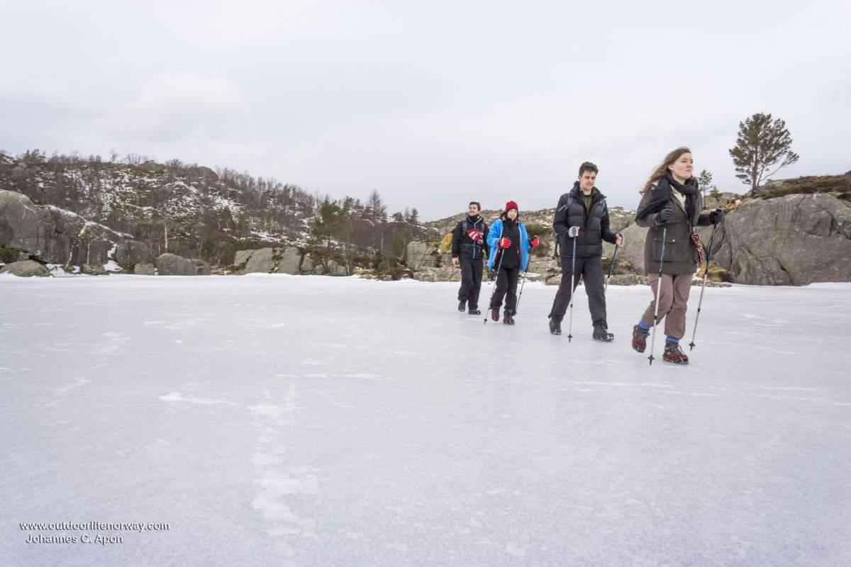 Outdoorlife Norway AS Preikestolen Winter Hike