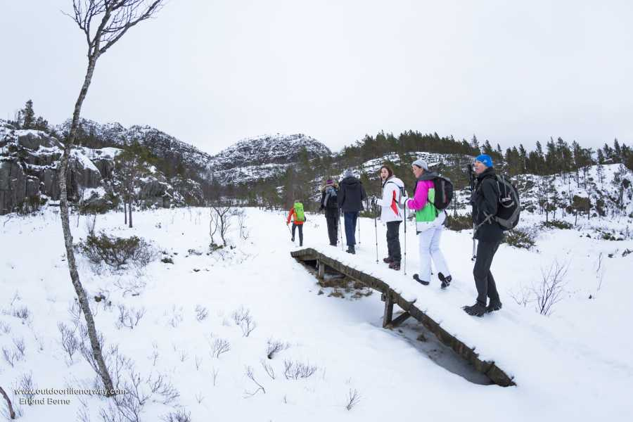 Outdoorlife Norway AS Preikestolen Winter / Spring Hike