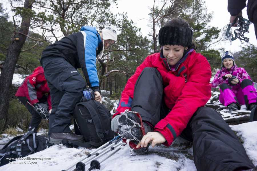 Outdoorlife Norway AS Preikestolen Winter Hike
