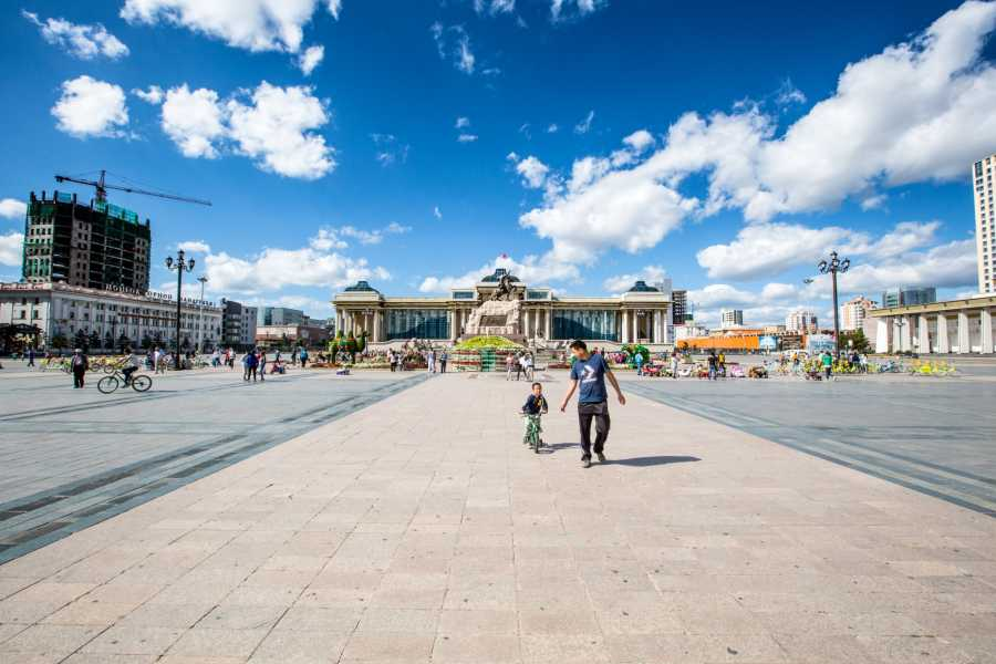 Mongolia Goes Global 2. Ulaanbaatar city tour