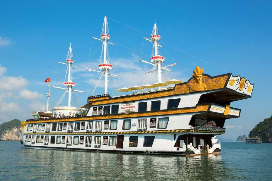 Friends Travel Vietnam Dragon Legend Cruise | Bai Tu Long Bay 2D1N