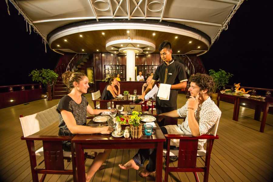 Friends Travel Vietnam Dragon Legend Cruise | Bai Tu Long Bay 3D2N