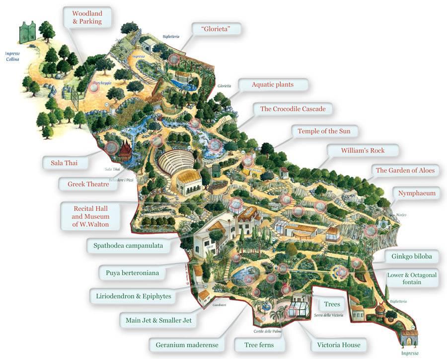 Ischia la Mortella Gardens Travel etc